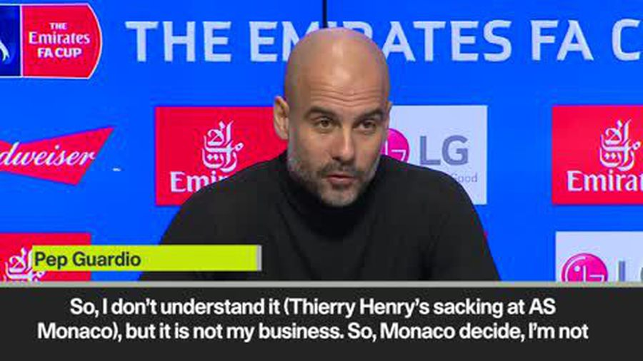 'I am so sorry for him' Guardiola on Henry after Monaco sacking