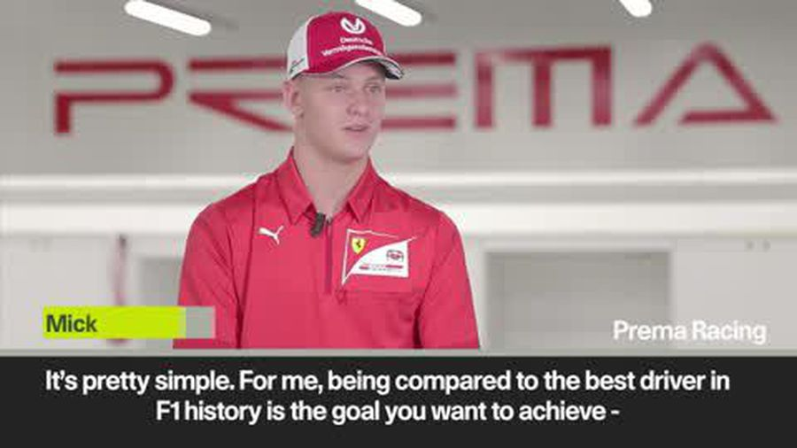 Having 'idol' as father is 'very special' - Mick Schumacher