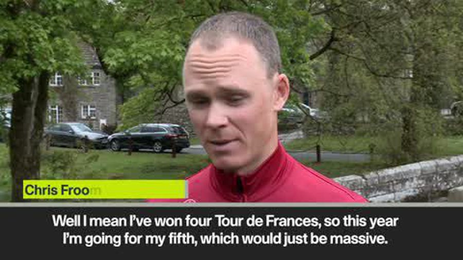 Froome on Tour de France and 'rivalry' with Thomas