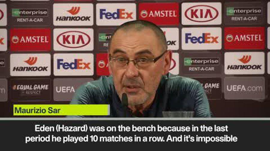'We deserve a trophy' - Sarri on possible Arsenal final and top four