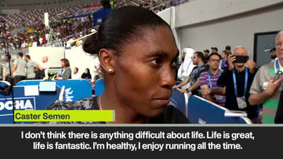 Semenya says 'actions speak louder than words' after Diamond League win