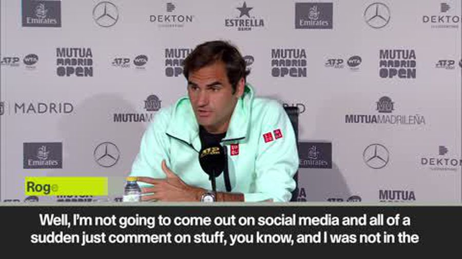 'You could have asked me. Nobody knocked on my door' Federer on Gimelstob assault