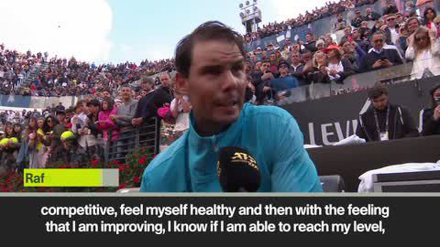 Nadal 'enjoying the moment' as he beats Djokovic in Rome to clinch first title of the season