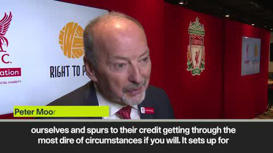 'A great Champions League final' - Liverpool CEO on playing Tottenham