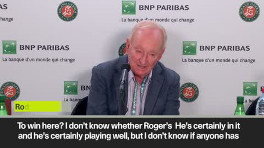 'Djokovic favourite, Federer will struggle' Tennis legend Laver at French open