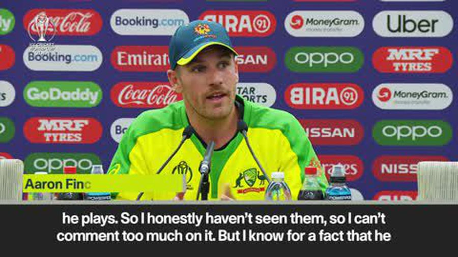 Finch responds to Zampa ball tampering accusations
