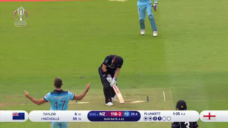 England beat New Zealand in a super over to win the World Cup