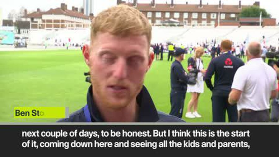 World Cup victory hasn't sunk in yet, says England's Ben Stokes