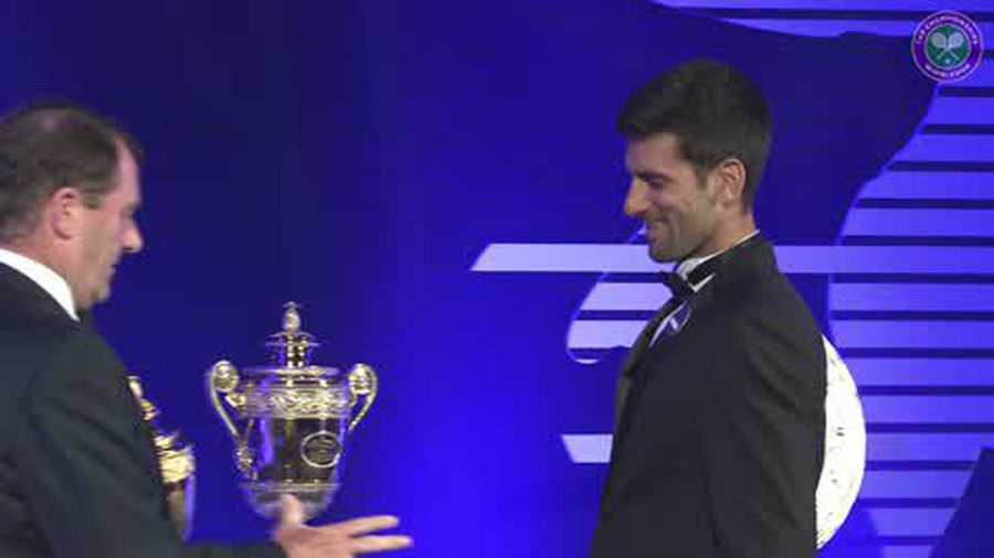 """""""I have a few more years in my legs"""" says Djokovic at Champions Dinner"""