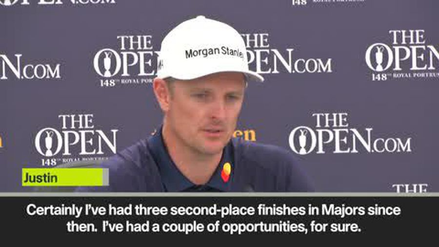 Eng Sub Justin Rose on long wait to win a second Major