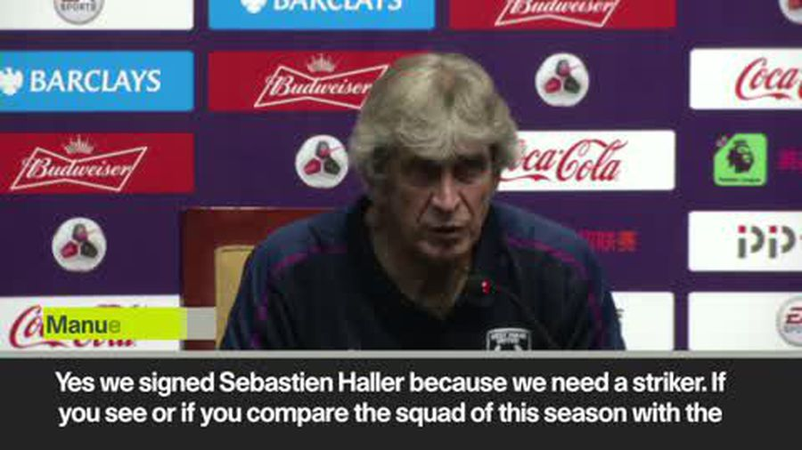 'Sebastian Haller will be an important part to our team' Pellegrini