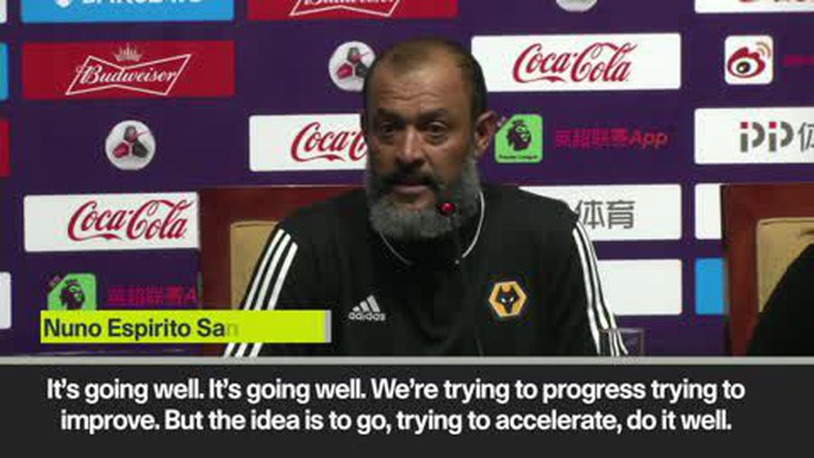 Nuno pleased with pre-season progress as Wolves thrash Newcastle 4-0 in Asia Trophy