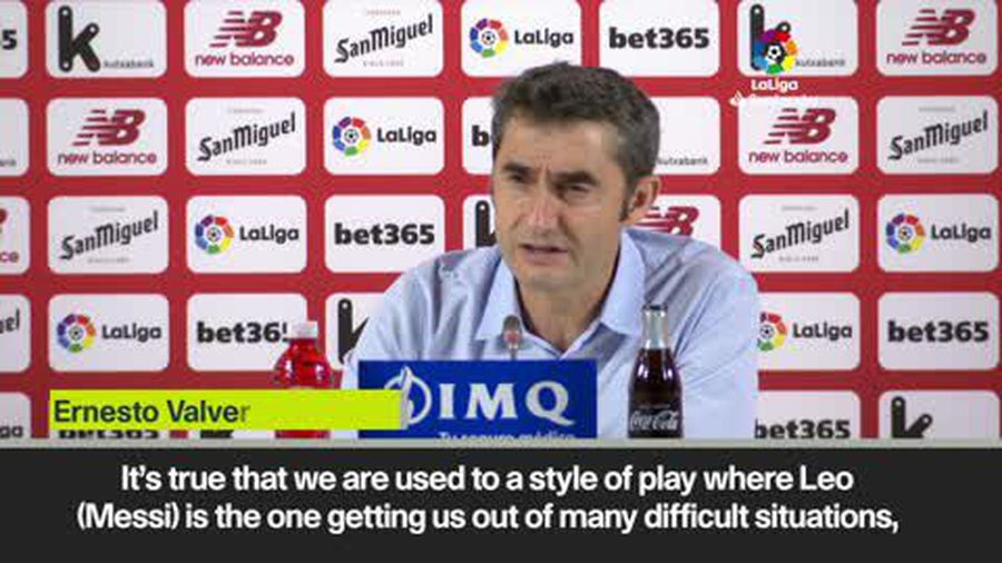 'Barcelona must adapt when Messi isn't there' - Valverde
