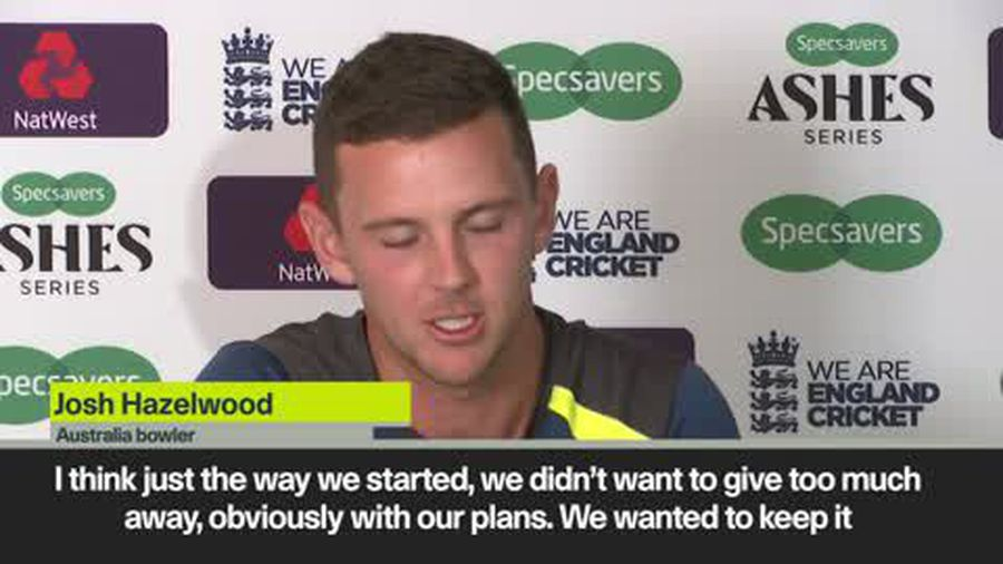 Hazelwood - England might be scarred after their 67 all out