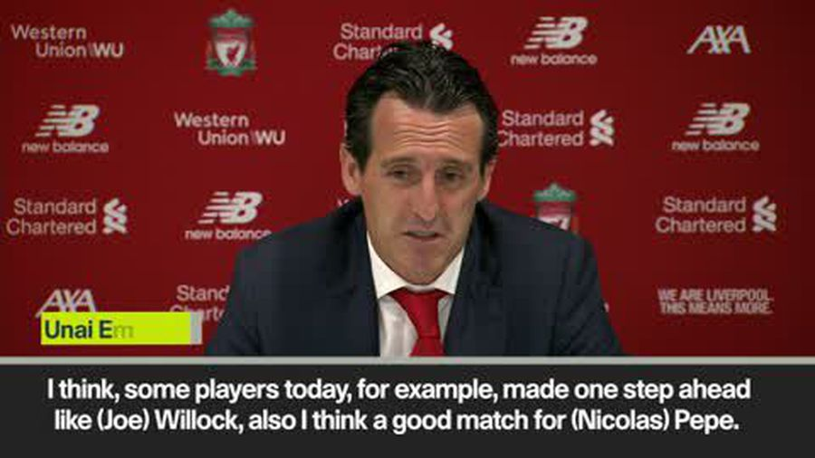 'Arsenal need to be optimistic after Liverpool loss' - Emery