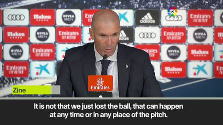 'We should have booted the ball away' – upset Zidane on draw against Valladolid