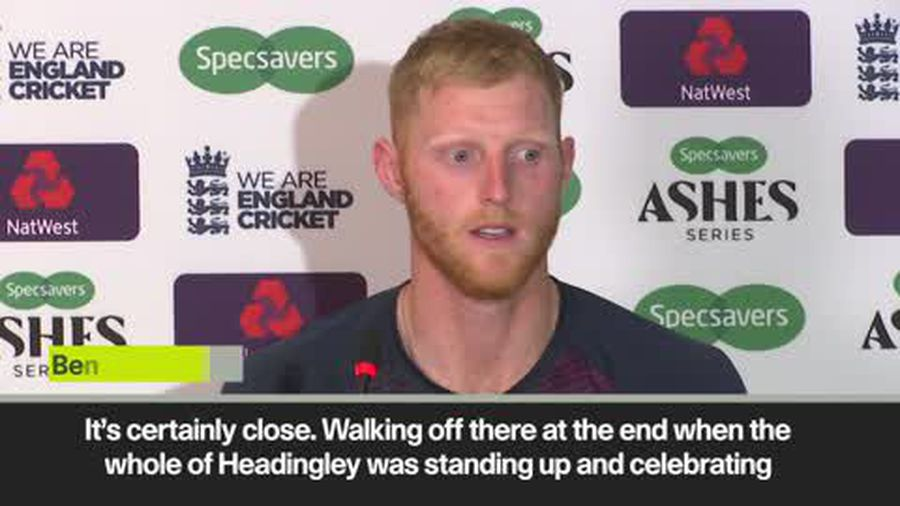 Ben Stokes reflects on his knock of 135 keeping Ashes hopes alive