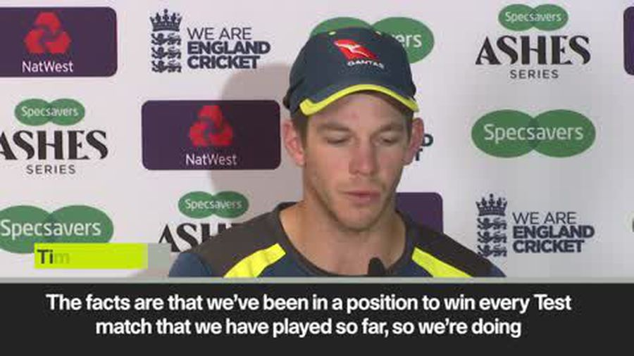 Tim Paine insists that Australia are doing plenty right, after they suffer an unlikely loss in th...