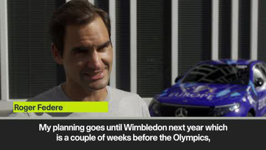 Federer hopes to compete at Tokyo 2020 and win first individual Olympic gold