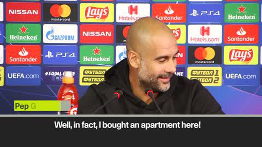 'I bought an apartment in Ukraine!' – Guardiola