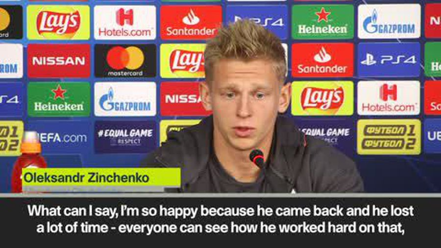 Zinchenko welcomes Mendy back to the Man City fold as defensive injury crisis hits the English ch...