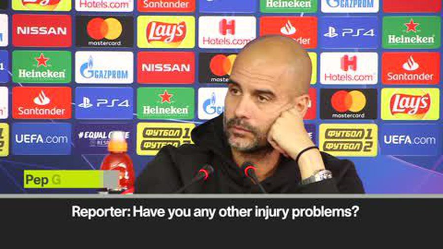 'I am ready for the challenge!' Pep on Man City's defensive crisis as Stone's out for five weeks