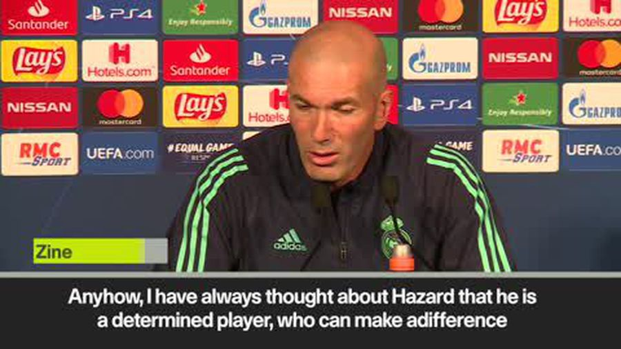 Zidane tips Hazard for great future at Real Madrid