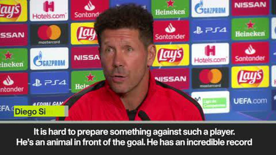 'Ronaldo is an animal in front of goal' Simeone