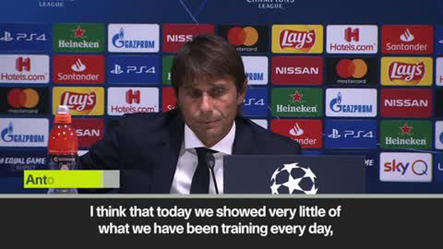Conte takes blame for Inter 1-1 draw with Slavia in CL