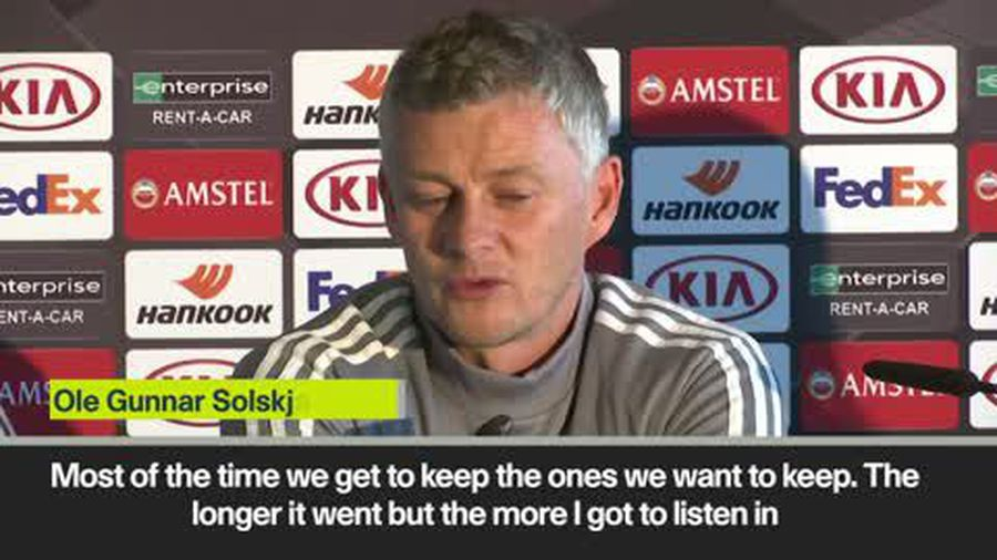 'You can see the focus in David's eyes' Solskjaer on de Gea after he signed new contract
