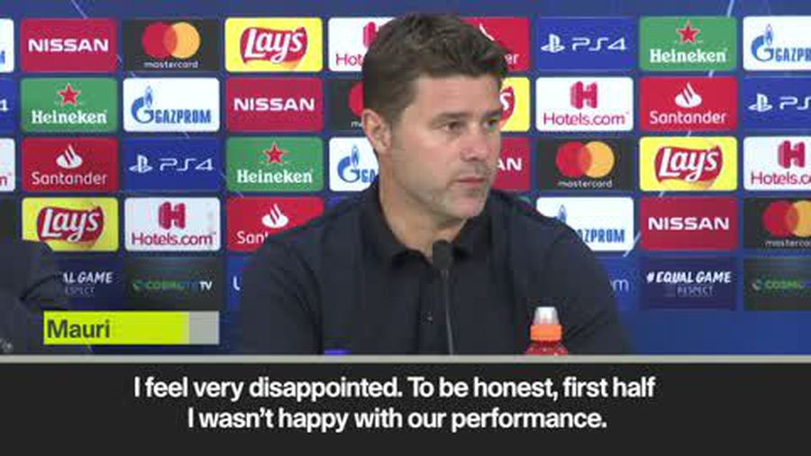 Pochettino 'disappointed' as Tottenham players 'didn't respect game plan' in Olympiacos draw