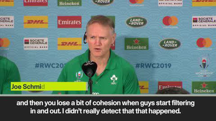 'Really impressive' - Ireland head coach Schmidt delighted with Scotland win