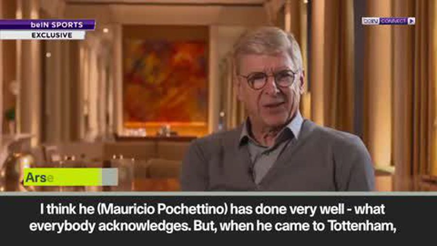 'People want more from you' Wenger on Pochettino's problems at Spurs