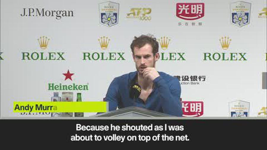 Murray and Fognini explain heated row during their match