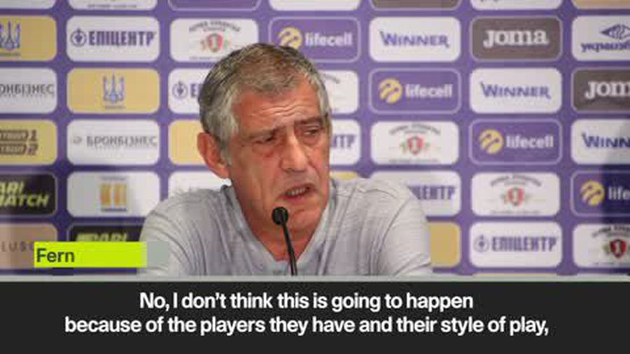 'Ukraine and Portugal have similar styles' Santos