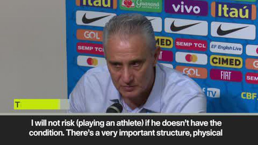 Tite defends decision to play Neymar after Brazil star limps off against Nigeria