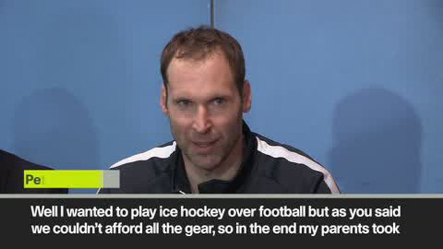 'I wanted to play hockey over football' Petr Cech fulfils his childhood dream