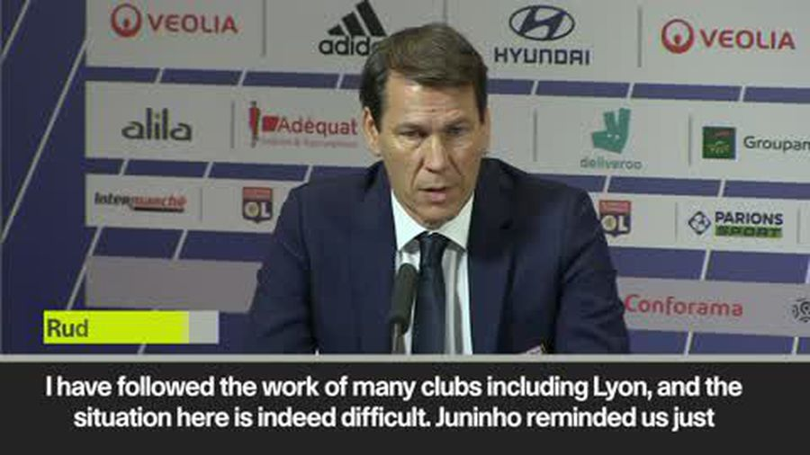 Rudi Garcia unveiled at struggling Lyon - 'the situation here is indeed difficult'