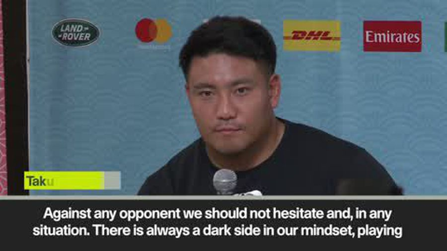 'We have a darkside to our mindset' Japan look ahead to RSA game