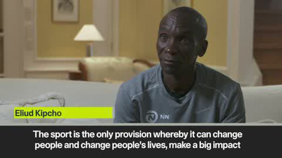Pizza cheap for a day due to my win - Kipchoge