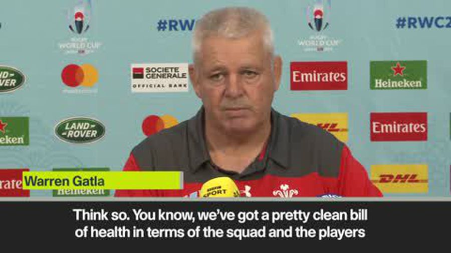 'The best chance Wales will ever have to win a World Cup' - Gatland