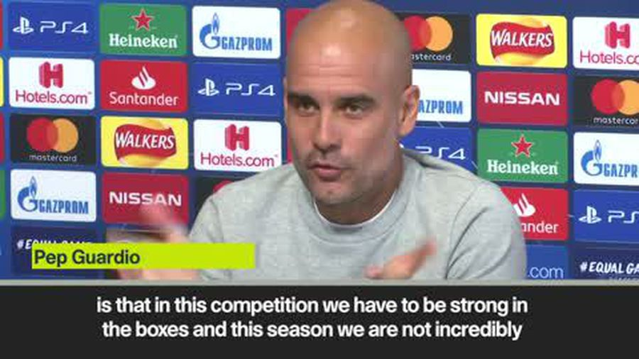 Guardiola on 'incredible step forward' in Champions League if they beat Atalanta