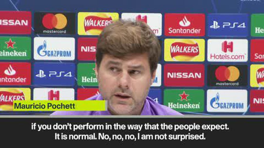Pochettino 'not surprised' his future at Spurs is under scrutiny