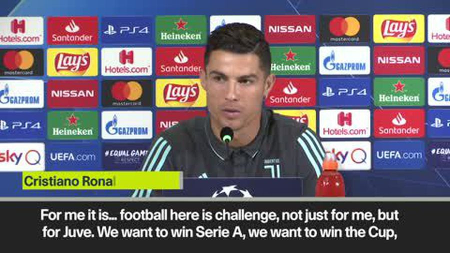 Ronaldo plays down Golden Ball importance with Juventus the priority