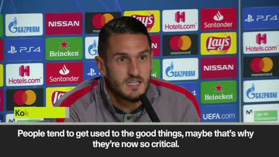 Koke says 'relax' as he defends Atletico ahead of match against Bayer Leverkusen