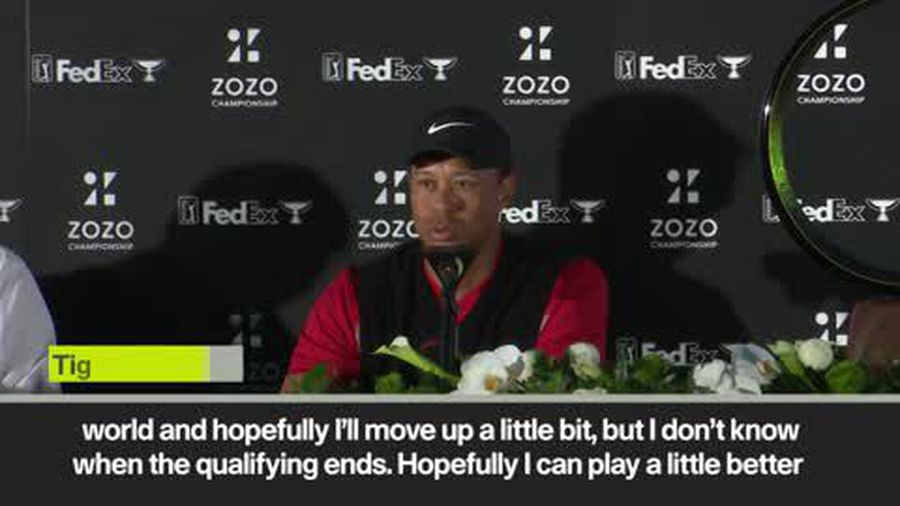 Tiger Woods targets Tokyo Olympics