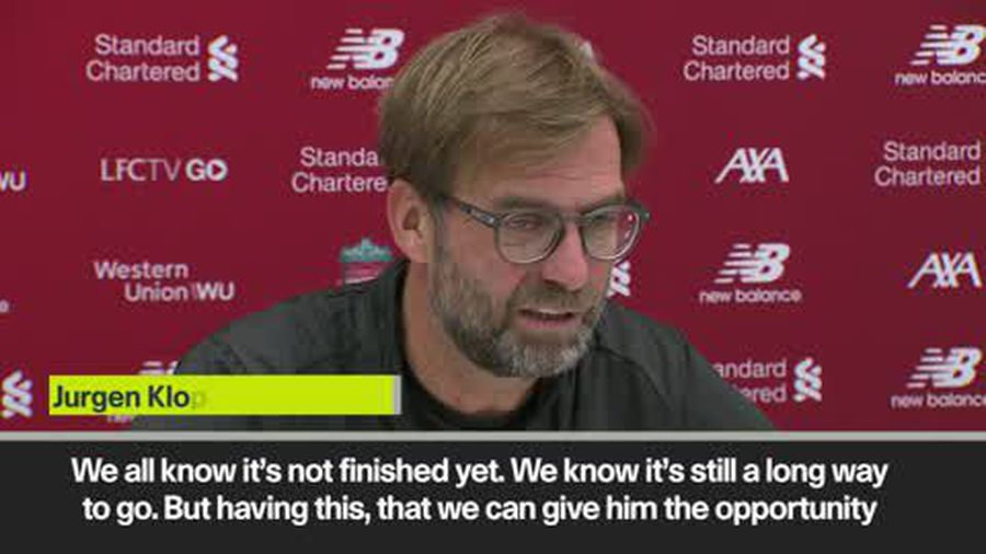 Klopp on plans to meet Liverpool fan Cox and the story being one of his highlights