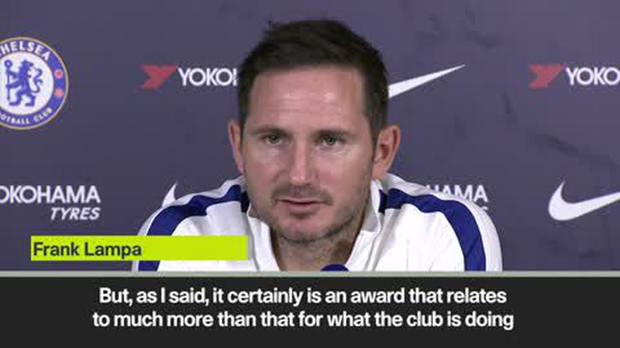 'Manager of the Month doesn't mean good job' - Lampard on his reign at Chelsea