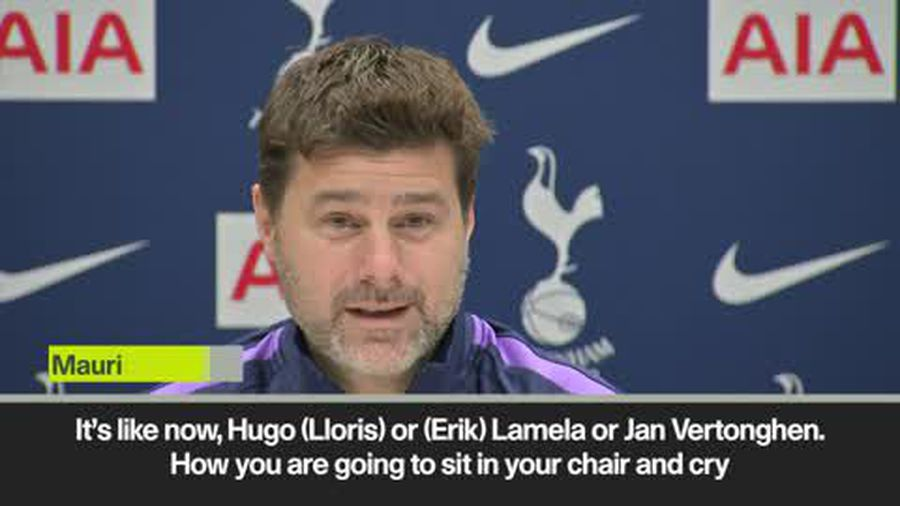 """""""No time to cry when you lose players to injury"""" says Pochettino"""