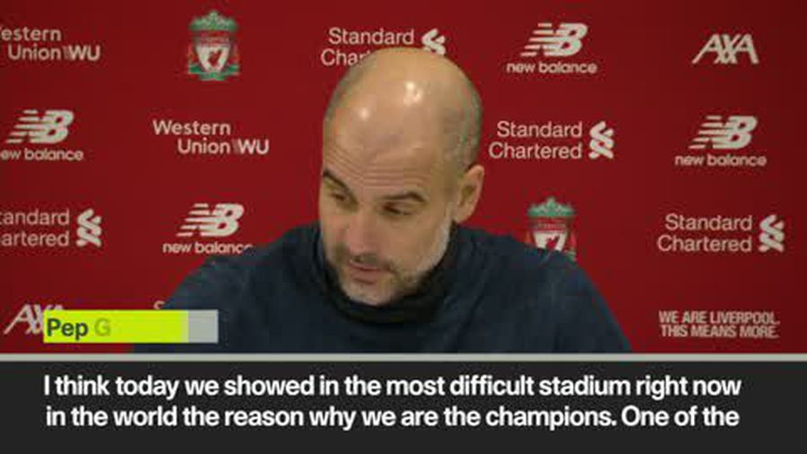 'Someone should buy me and Jurgen a bottle of wine' Pep after 3-1 defeat to Liverpool